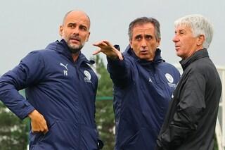 L'incontro speciale di Gasperini a Manchester: sfida lo United, a colloquio con Guardiola