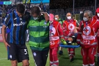 Infortunio per Pessina durante Atalanta-Milan: brutte notizie per la Nazionale e Mancini