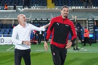 Ibrahimovic è tornato ad allenarsi in gruppo: sarà a disposizione per Milan-Verona