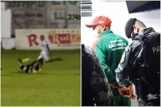 Follia in Brasile, arbitro preso a calci durante la partita: Ribeiro arrestato dalla polizia