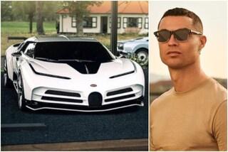 """Dieci milioni per un capriccio, l'ultima auto di Cristiano Ronaldo è """"un'opera d'arte"""""""