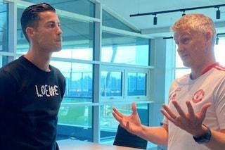 Cristiano Ronaldo insoddisfatto: chiede a Solskjaer di cambiare gioco e si lamenta dei compagni