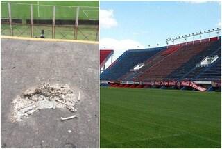 Lo stadio del San Lorenzo riapre dopo quasi due anni: orribile scoperta sugli spalti