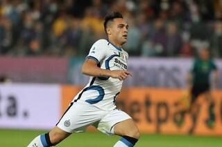 Sassuolo-Inter 1-2 Risultato finale Serie A 2021/2022, gol di Dzeko e Lautaro