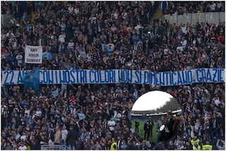 """Applausi e cori dei tifosi della Lazio a Inzaghi: """"22 anni con i nostri colori non si dimenticano"""""""