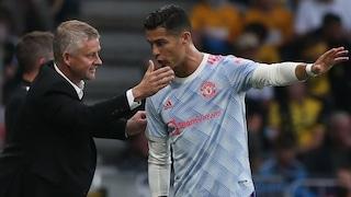 """La critica all'atteggiamento di Cristiano Ronaldo: """"Solskjaer deve parlargli, non può fare così"""""""