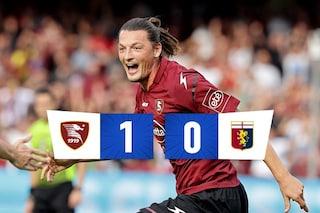 Prima vittoria per la Salernitana: Djuric abbatte il Genoa, inutile l'assedio finale dei rossoblù