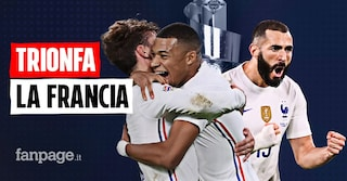 La Francia vince la Nations League, show a San Siro: Benzema e Mbappé affondano la Spagna