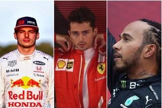 """Hamilton o Verstappen, chi vincerà il Mondiale di F1? Leclerc: """"Sono due fenomeni, ma ho una sensazione"""""""