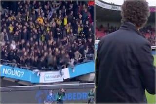 """La tribuna crolla mentre i tifosi festeggiano: """"È stato uno shock"""""""