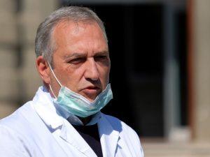 Francesco Vaia, direttore sanitario istituto Spallanzani