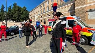 Intitolata un'ambulanza a Mario Cerciello Rega, il carabiniere ucciso un anno fa a Roma