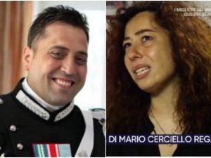 La vedova di Mario Cerciello Rega intervistata a 'La Vita in Diretta' su Rai 1