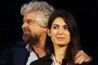 """Da Beppe Grillo ok a Raggi bis, ma il Pd dice no: """"Impossibile sostenerla"""""""