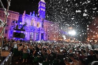 Oggi nella Basilica di Santa Maria Maggiore si celebra il miracolo della neve a Roma ad agosto