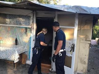 """Sgomberato campo nomadi a Tor di Quinto: """"Nell'area un'enorme discarica abusiva"""""""