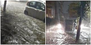 Maltempo a Roma: strade come fiumi e rami caduti, decine gli interventi in tutta la città
