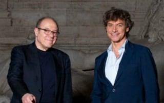 Alberto Angela con Carlo Verdone: la prima puntata di Ulisse è su Roma