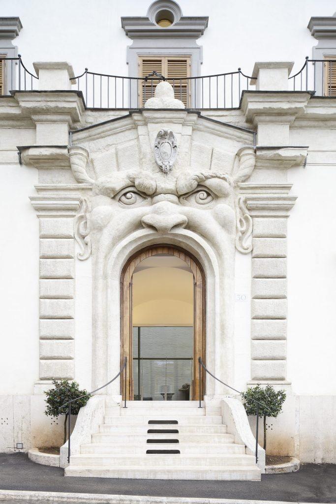 Palazzo Zuccari, Foto di Andreas Muhs–Max–Planck–Gesellschaft /Facebook