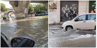 Roma: esplode una tubatura su via Gregorio VII, la strada diventa un fiume