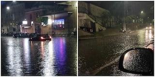Bomba d'acqua su Roma: allagato il Grande Raccordo Anulare, chiusa la metro A