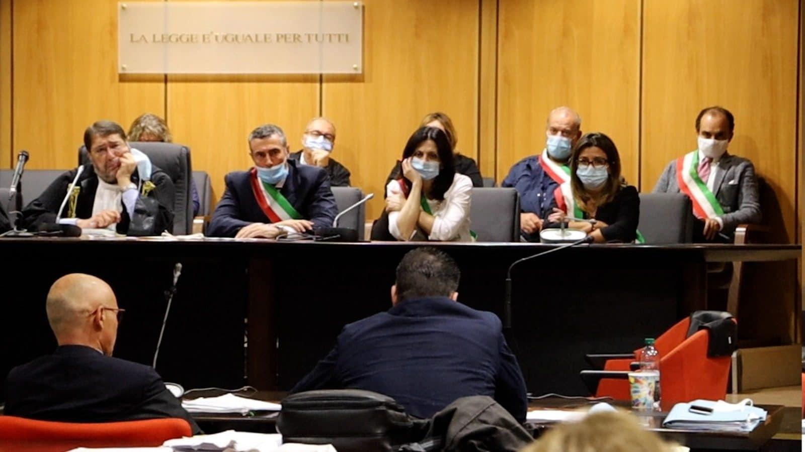 Antonio Ciontoli in aula prima della sentenza del processo bis per l'omicidio di Marco Vannini