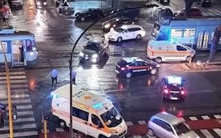 Scontro tra due tram su via Prenestina: nove passeggeri feriti