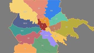 Roma come New York: la mappa dei nuovi 15 distretti di polizia