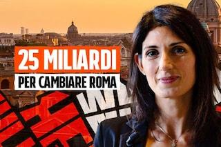 """Virginia Raggi e l'occasione per cambiare davvero Roma: """"Con i soldi dell'Europa riparte la città"""""""