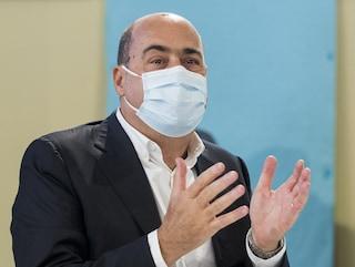 """Coronavirus Lazio, Zingaretti: """"Bisogna diradare contatti tra persone, è preghiera che vi faccio"""""""