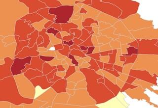 Coronavirus Lazio, indice Rt a 1,38: più gravi le province rispetto a Roma