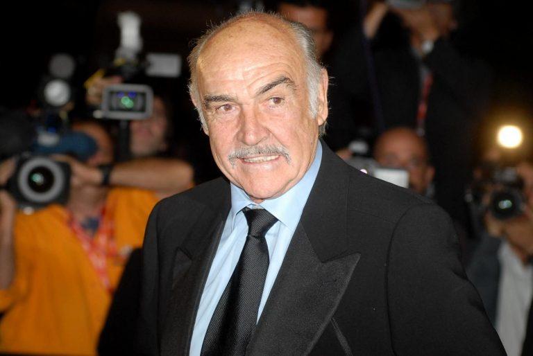 Sean Connery alla Festa del Cinema di Roma (La Presse)