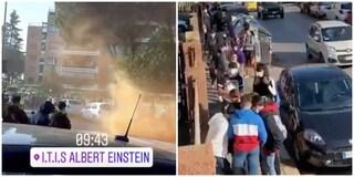"""Possibili casi di Covid a liceo Einstein, studenti protestano: """"Professori non sono in quarantena"""""""