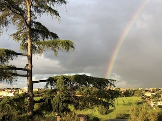 Dopo la pioggia l'arcobaleno: il risveglio dei romani oggi