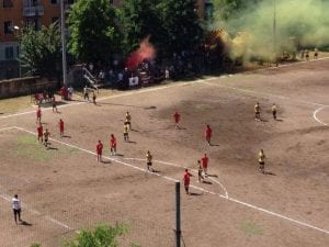 "Foto Facebook ""Atletico San Lorenzo""."