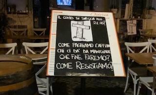 Prima notte di coprifuoco a Roma: a Campo de' Fiori i commercianti protestano e chiudono in anticipo