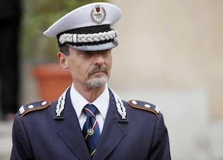 Il vice comandante dei vigili Carlo Buttarelli in codice rosso: investito da un'auto contromano