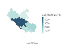 Quali sono le province del Lazio che rischiano il lockdown per coronavirus