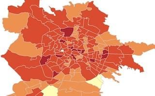 A Roma tanti contagi da Covid, ma indice Rt basso: provincia di Viterbo rischia il lockdown