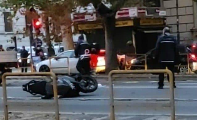 L'incidente in Corso Trieste