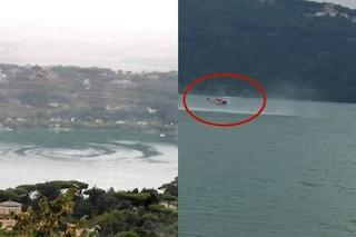 """Spiegato il mistero del mulinello nel lago di Castel Gandolfo: """"È colpa di un elicottero"""""""