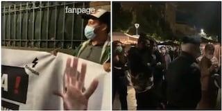 """I commercianti del Pigneto manifestano contro il coprifuoco: """"Non ci stiamo, così ci rovinate"""""""