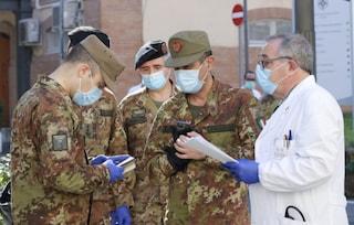 Nel Lazio arrivano i militari in soccorso del sistema sanitario