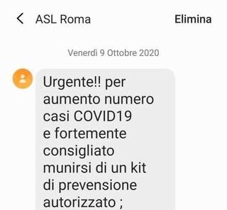 Coronavirus, finti sms per ricevere a casa kit anti-covid: ma è una truffa