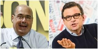 """Elezioni Roma 2021, Zingaretti: """"Auspichiamo un'alleanza larga, anche con i 5 Stelle"""""""