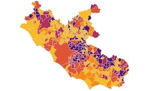 Coronavirus, per la prima volta nel Lazio il rischio scende da alto a moderato: cosa significa