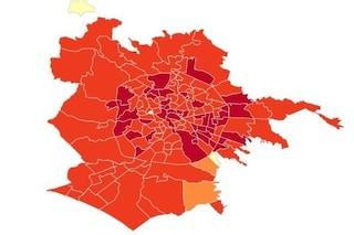 Coronavirus Roma, i dati e la mappa dei contagi per quartiere: boom di casi a Torre Angela