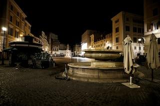 Primo weekend per Roma area gialla: stop a centri commerciali, chiuse piazze e vie della movida