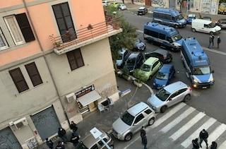 Sgomberata la sede del partito di estrema destra Forza Nuova in via Taranto