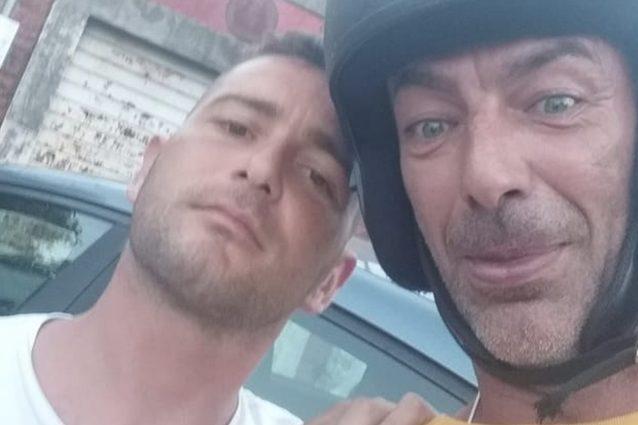 Erik D'Arienzo con Fabrizio Moretto